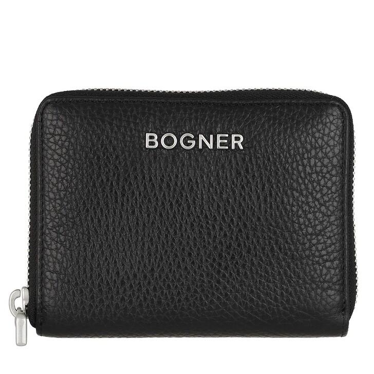 wallets, Bogner, Andermatt Norah Wallet Black