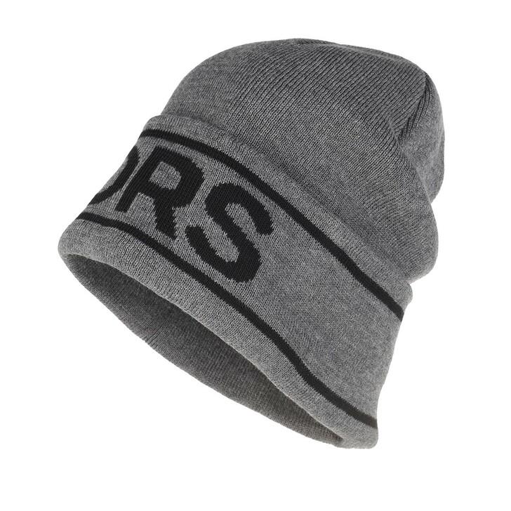 Mütze, MICHAEL Michael Kors, Men Vertical Logo Cuff Hat Derby Melang