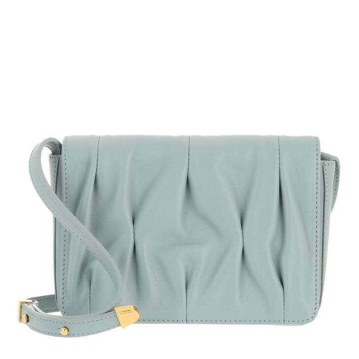 bags, Coccinelle, Handbag Smooth Calf Leather Soft Cloud