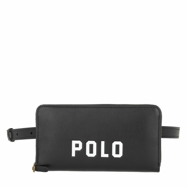 Handtasche, Polo Ralph Lauren, Modern Nappa Belt Bag Small Black