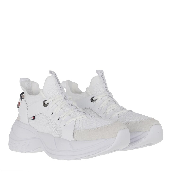 Schuh, Tommy Hilfiger, New Chunky Tommy Sneaker White