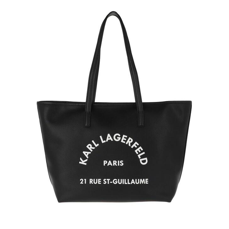 Handtasche, Karl Lagerfeld, Rue Tote Black