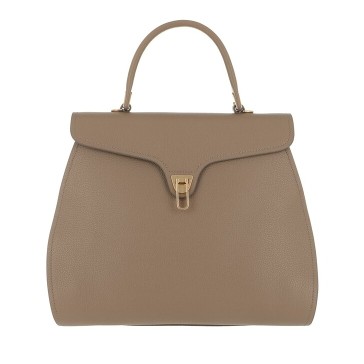 Handtasche, Coccinelle, Marvin Handle Bag Leather Taupe
