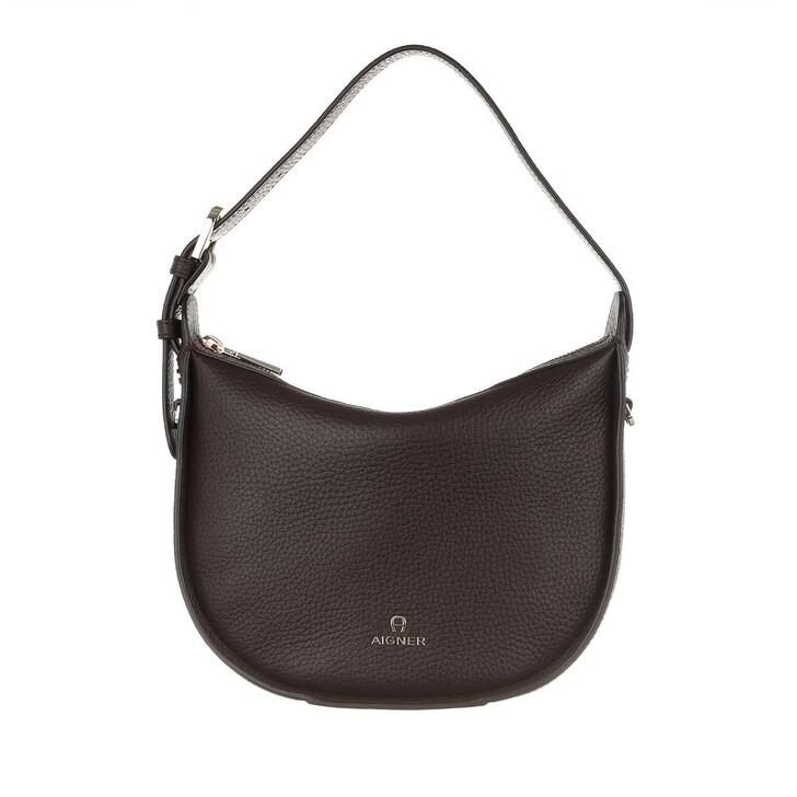 bags, AIGNER, Ivy Crossbody Bag Java Brown