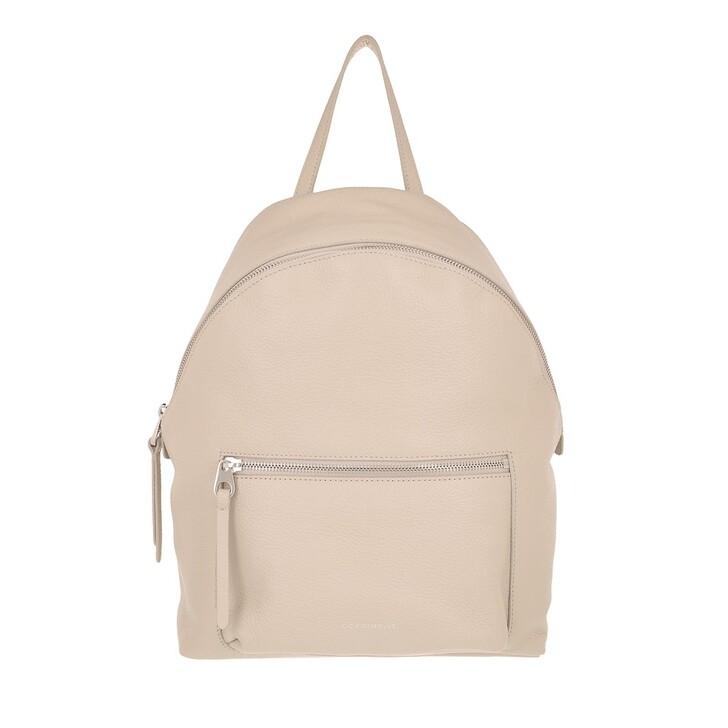 Handtasche, Coccinelle, Handbag Grained Leather Seashell