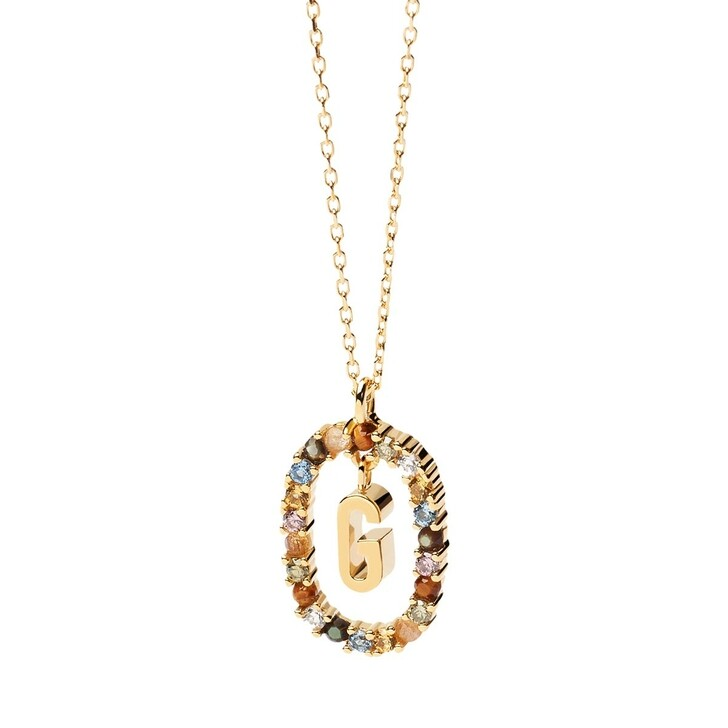 Kette, PDPAOLA, Necklace Letter G Yellow Gold
