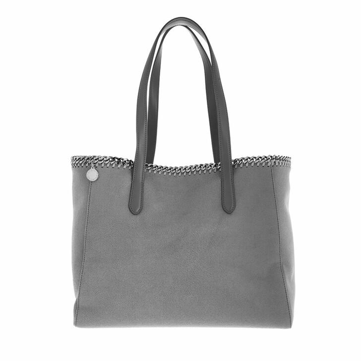 bags, Stella McCartney, Falabella Shaggy Dear Small Tote Light Grey