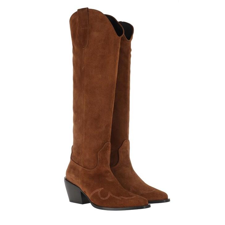 shoes, Nubikk, Alex Gilly Boot Cognac Suede