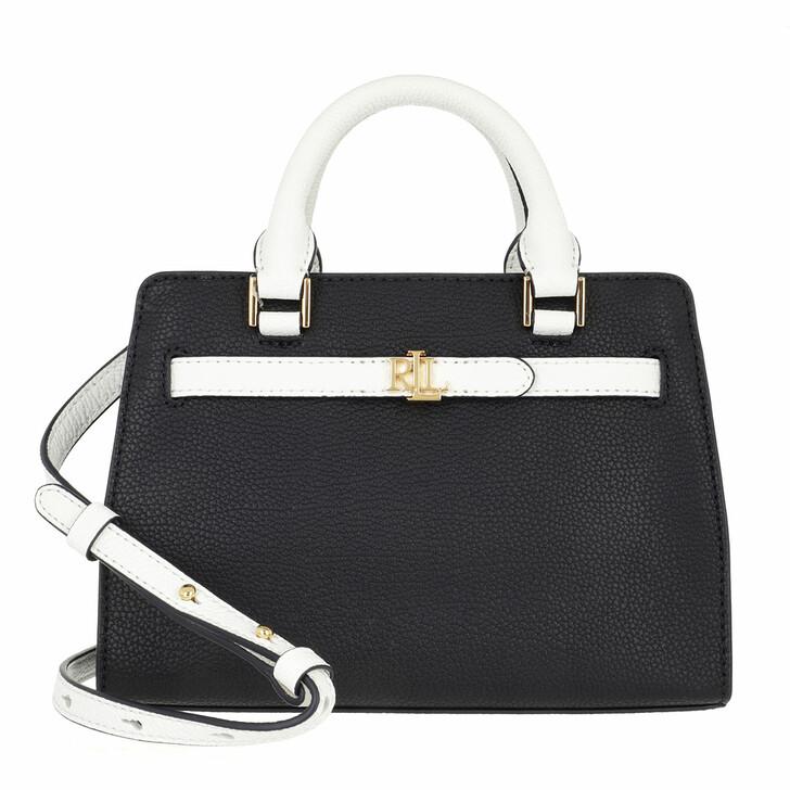 bags, Lauren Ralph Lauren, Fenwick 23 Crossbody Medium Lauren Navy/Snow White
