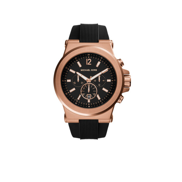 Uhr, Michael Kors, MK8184 Dylan Rose Stainless Steel Watch Gold-Tone