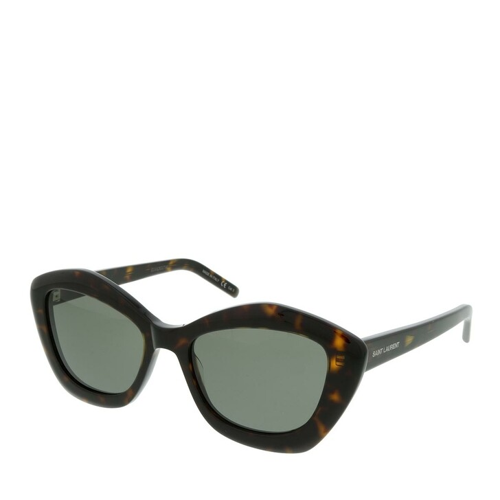 Sonnenbrille, Saint Laurent, SL 423-002 54 Sunglasses Acetate Havana