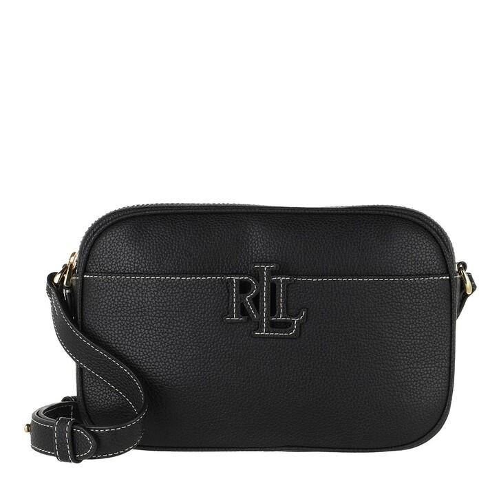 Handtasche, Lauren Ralph Lauren, Carrie 24 Crossbody Small Black/Ecru