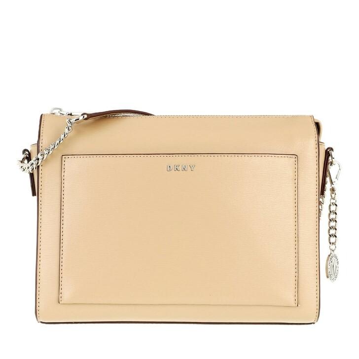 Handtasche, DKNY, Bryant Medium Box Crossbody Jute