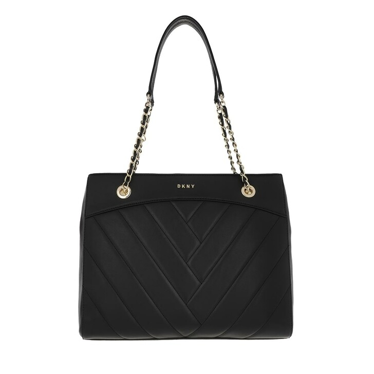 Handtasche, DKNY, Cici Tote Blk/Gold