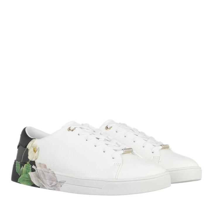 Schuh, Ted Baker, Darma Sneaker Ivory Black