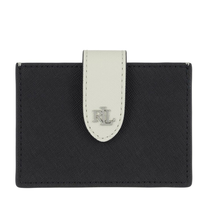 Geldbörse, Lauren Ralph Lauren, Accordn Card Card Case Medium Lauren Navy/Vanilla