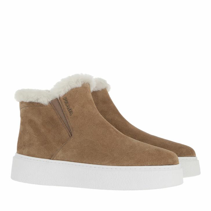 shoes, Prada, Sneakers Visone Naturale