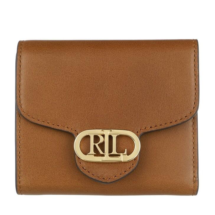wallets, Lauren Ralph Lauren, Logo Comp Wallet Medium Lauren Tan