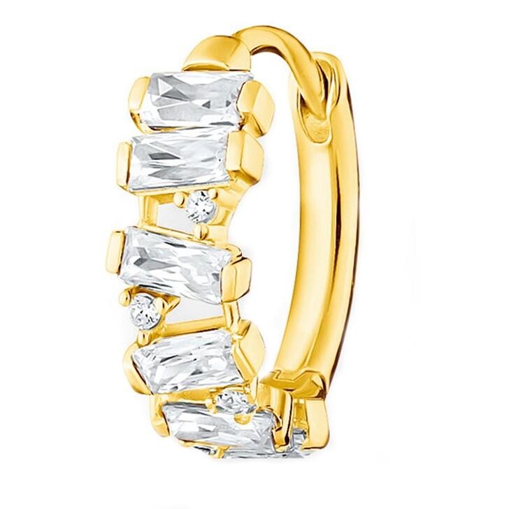 earrings, Thomas Sabo, Hoop Earring Yellow Gold