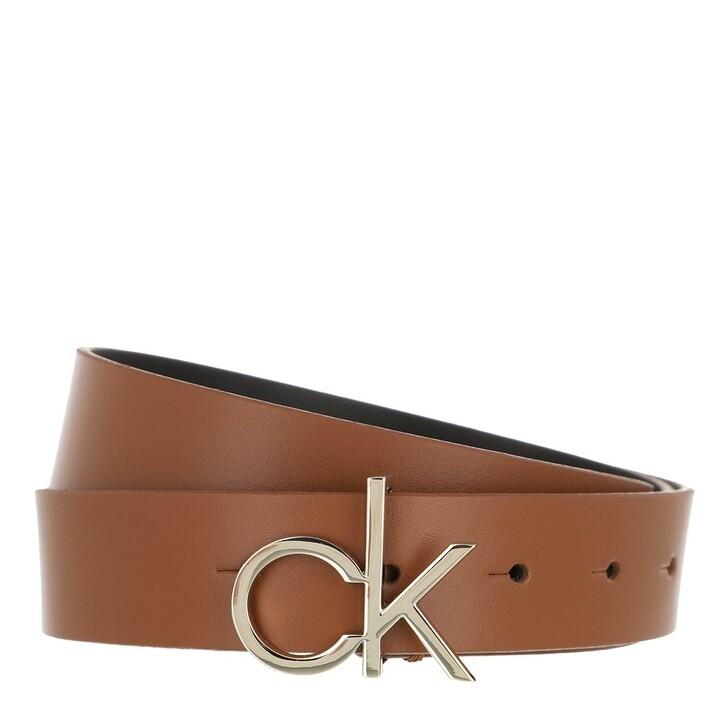 Gürtel, Calvin Klein, Logo Belt 30mm Cognac