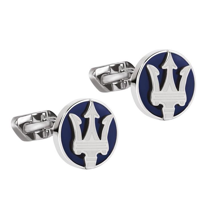 Manschettenknöpfe, Maserati, Cufflinks Dumoritite Stone Blue