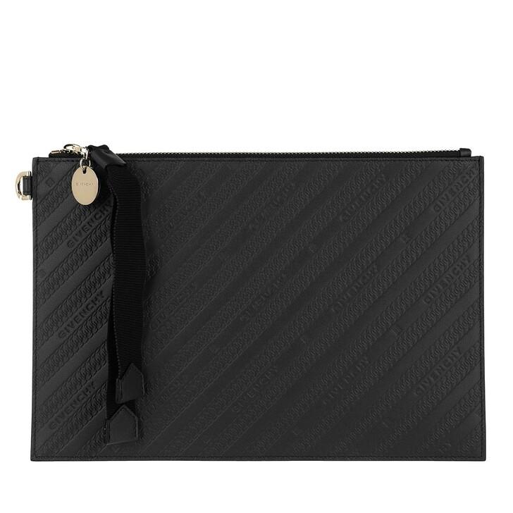 Handtasche, Givenchy, Bond Medium Pouch Black