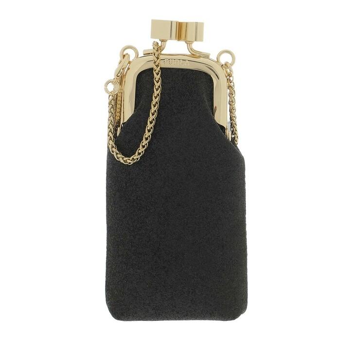 Necessaire, Furla, 1927 Mini Cosmetic Case Black