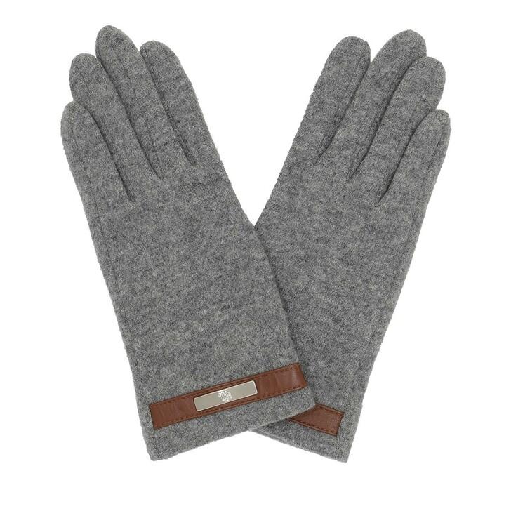 Handschuh, Lauren Ralph Lauren, Glove Wool Grey Heather