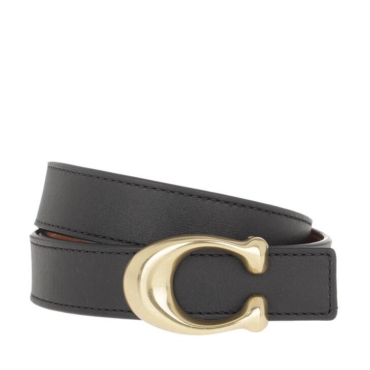 Gürtel, Coach, Belt Leather 1941 Black Saddle