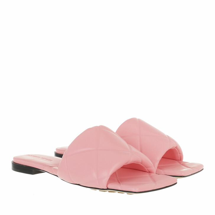 Schuh, Bottega Veneta, Lido Flat Sandals Pink