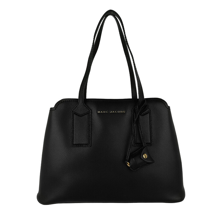Handtasche, Marc Jacobs, Editor Shoulder Bag Black