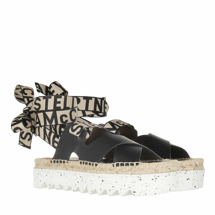 Schuh, Stella McCartney, Gaia Sandals Black