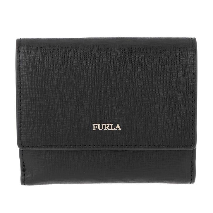 wallets, Furla, Babylon S Bi-Fold Nero