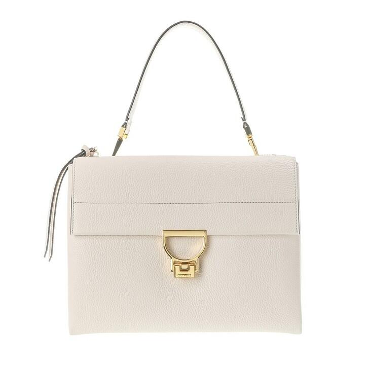 Handtasche, Coccinelle, Arlettis Satchel Bag Lambskin White