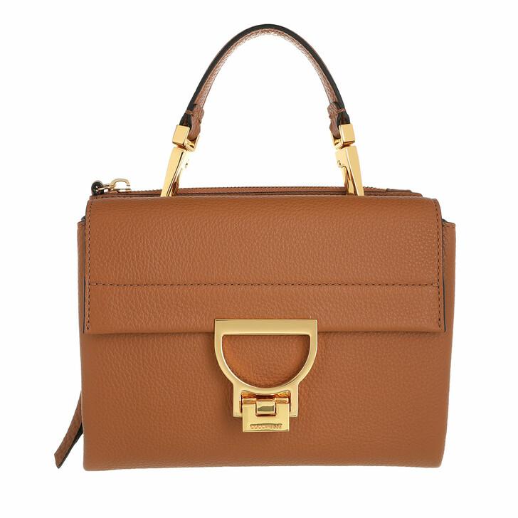bags, Coccinelle, Arlettis Tote Bag Caramel