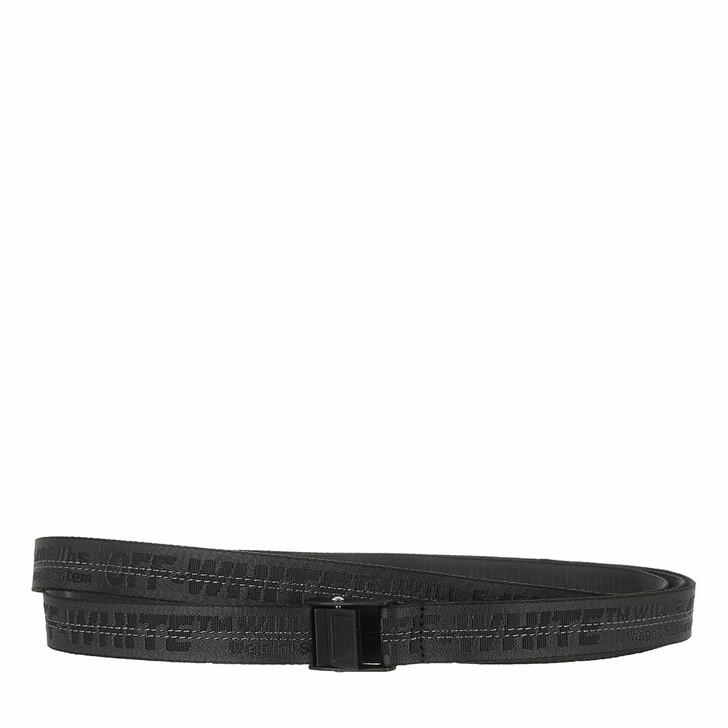 Gürtel, Off-White, Mini Industrial Belt  Black Black