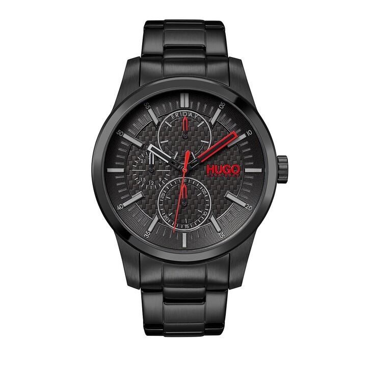 Uhr, Hugo, Real Watch Black