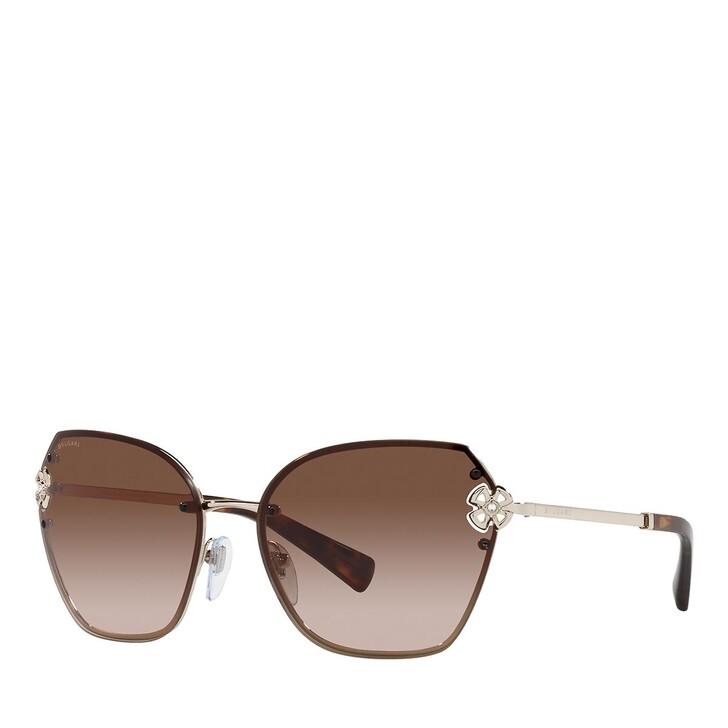 sunglasses, BVLGARI, 0BV6152B PALE GOLD