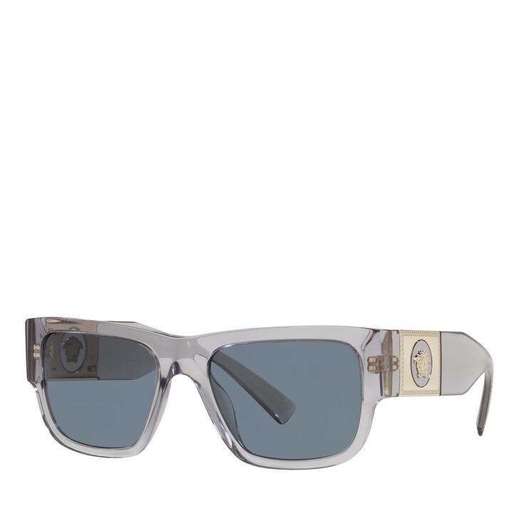 sunglasses, Versace, 0VE4406 TRANSPARENT GREY