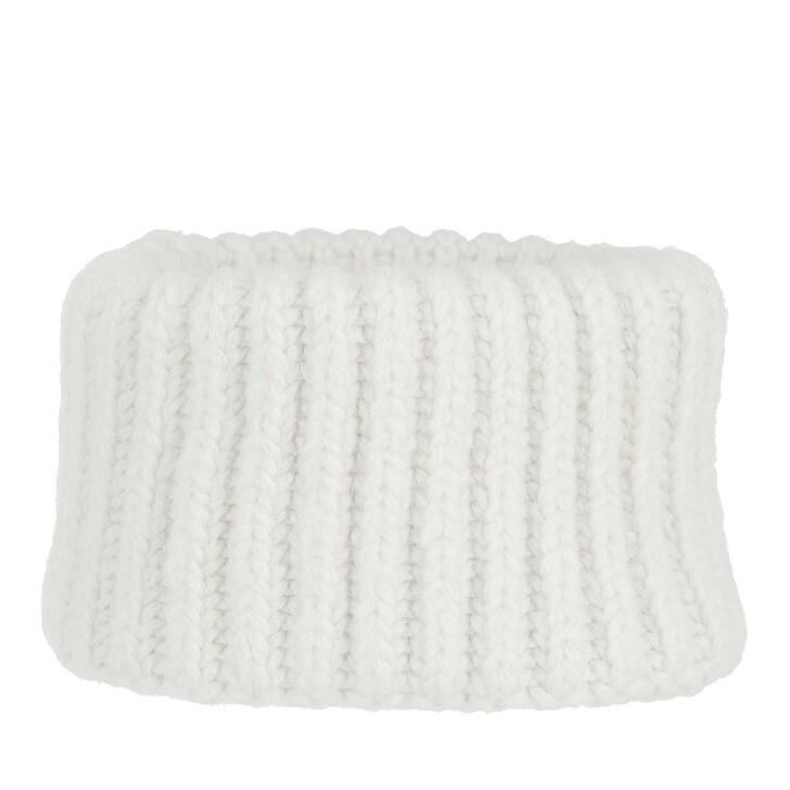hats, Closed, Knitted Headband Ivory