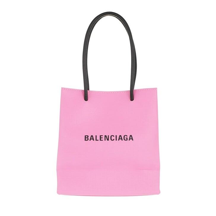 Handtasche, Balenciaga, XS Shopping Bag Pink