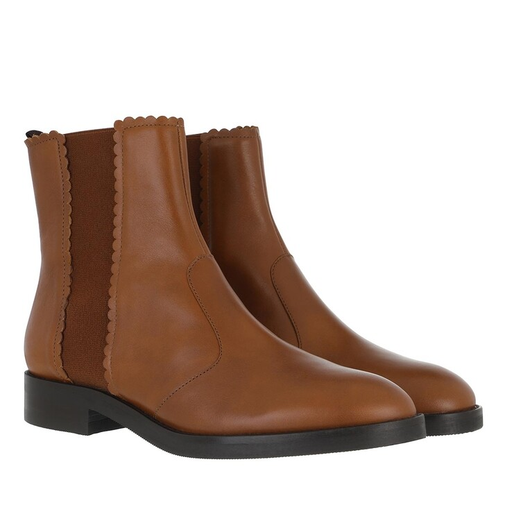Schuh, See By Chloé, Boots Cammelo