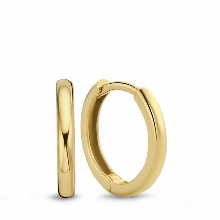 earrings, Isabel Bernard, Rivoli Lotte 14 Karat Hoop Earrings Gold