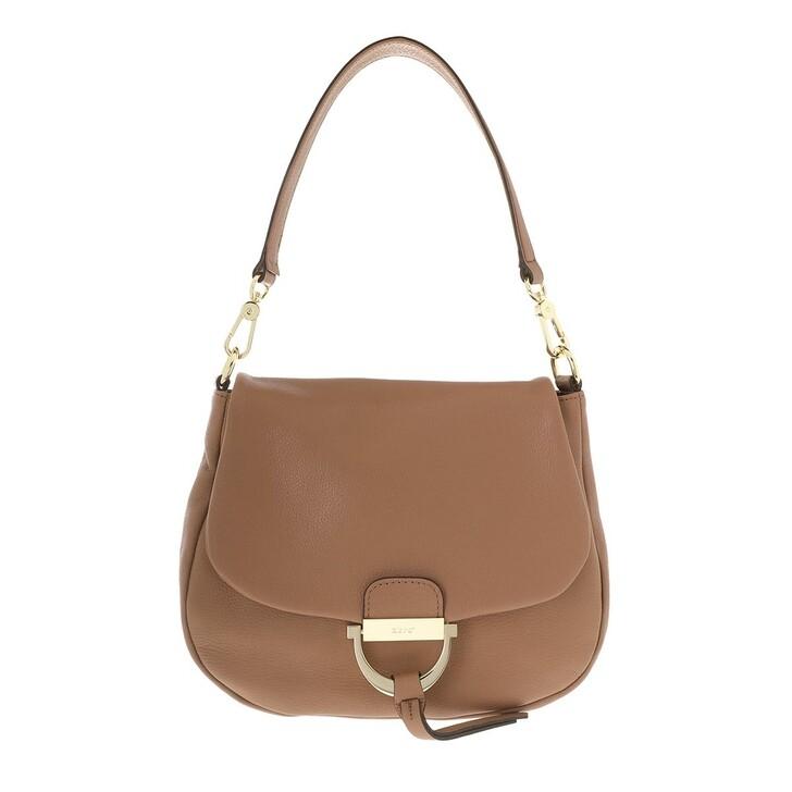 Handtasche, Abro, Shoulder Bag Temi Medium Camel
