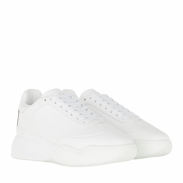 shoes, Stella McCartney, Loop Low Sneakers Leather White