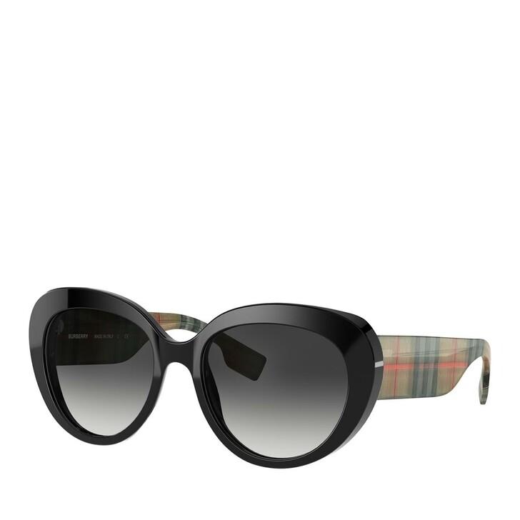 sunglasses, Burberry, AZETAT WOMEN SONNE BLACK