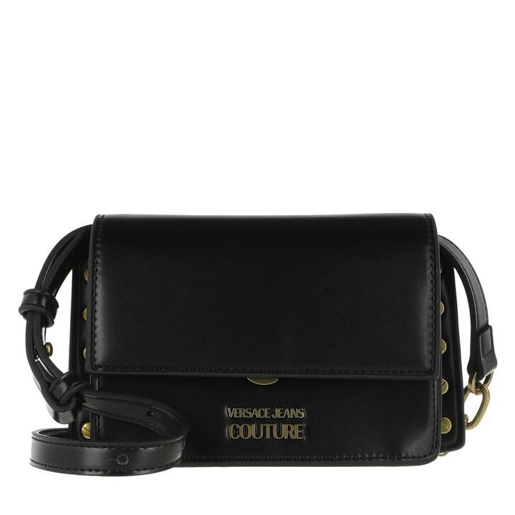 bags, Versace Jeans Couture, Mini Crossbody Bag Black