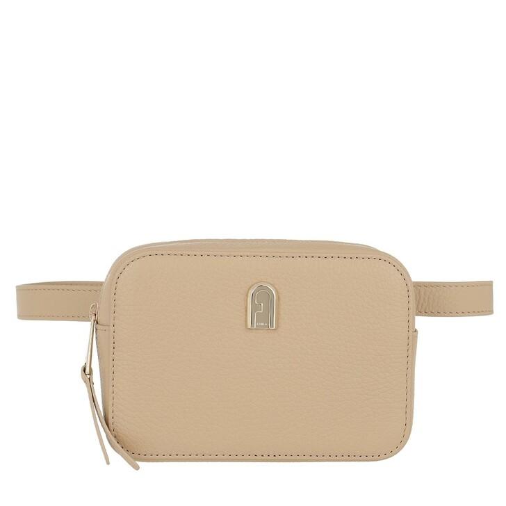Handtasche, Furla, Sleek M Belt Bag Sand