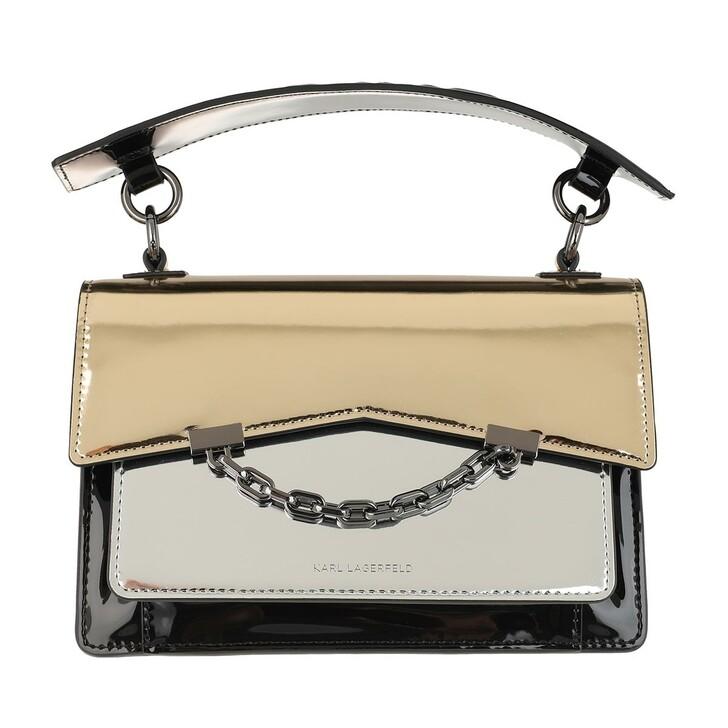 Handtasche, Karl Lagerfeld, K/Karl Seven Specchio Sb Silver