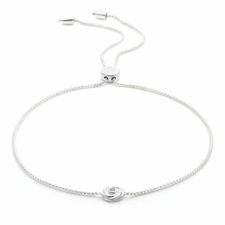 bracelets, Lauren Ralph Lauren, Bracelet Knot Slider Silver/Diamond